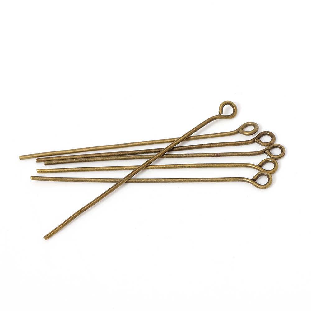 10pcs Augen Pins für Schmucksachen, die 10 10mm Metall Augen Hauptstift  Nadeln Fit Perle DIY Schmucksachen, die Entdeckungen Zubehör Großhandel