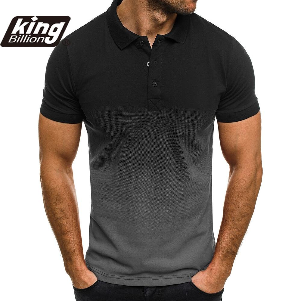 KB Men Polo Men Shirt Short Sleeve Polo Shirt Contrast Color Polo New Clothing Summer Streetwear Casual Fashion Men tops 1
