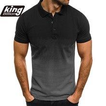 KB męska koszulka Polo koszula męska koszulka Polo z krótkim rękawem koszulka Polo w kontrastowych kolorach nowa odzież letnia Streetwear moda codzienna męska topy