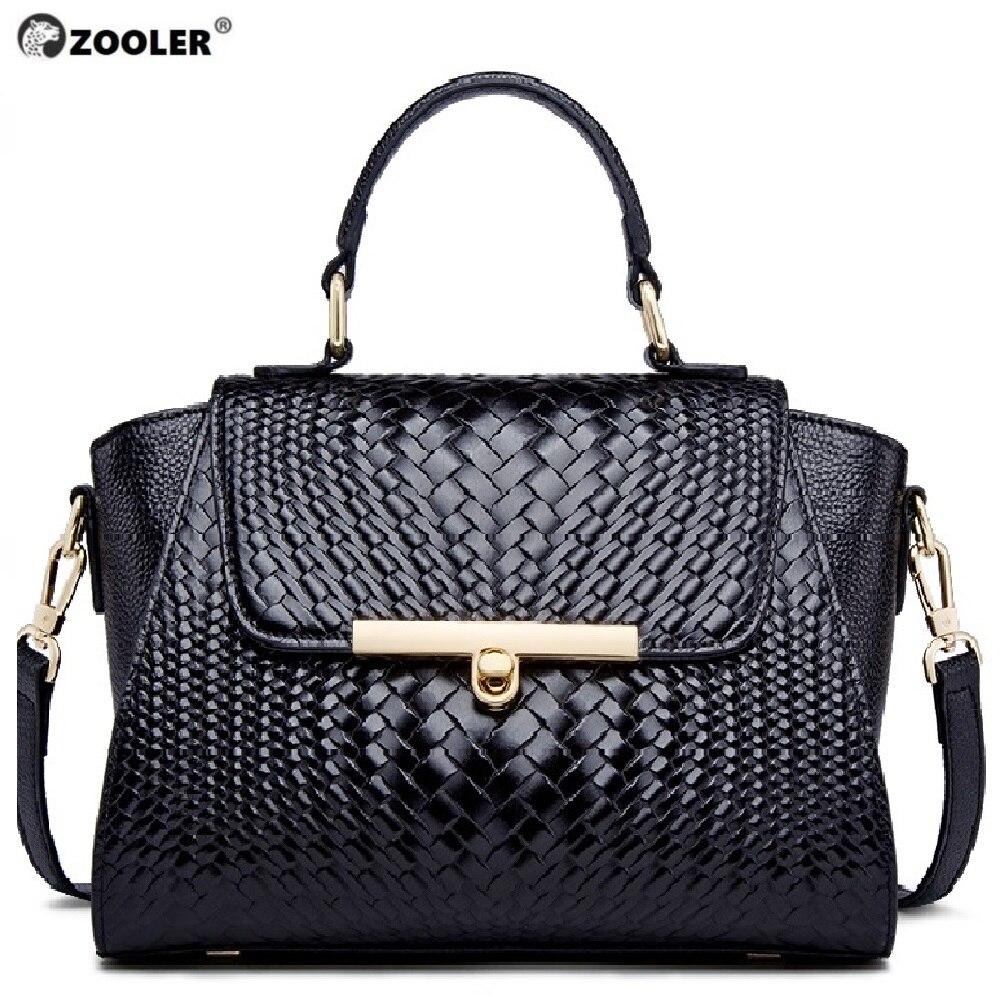 ZOOLER di lusso di marca classic borsa a tracolla in pelle con il singolo spalla diagonale straddle borsa per le donne borsa di Grandi Dimensioni capacità-in Borse con manici da Valigie e borse su  Gruppo 1