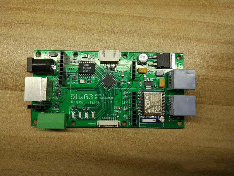 51WG3 APRS Gateway Weather Relay PM2.5 Integrated Board, Integrated Temperature, Humidity And Pressure