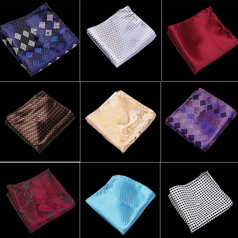New Classic  Luxury Men's Vintage Floral Paisley Silk Handkerchief Pocket Square Fashion Men Hanky For Wedding Party