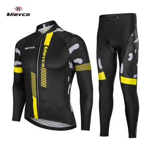 Mieyco Men's Cycling Jersey Ropa Maillot Ciclismo Hombre Pro Team MTB Bicycle Clothing Mountain Bike Road Bicycle Bib Pants Sets