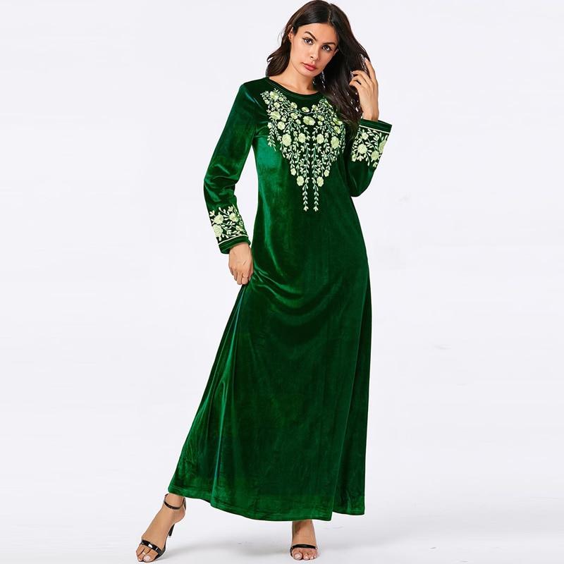 Abaya Turkey Islamic Arabic Hijab Muslim Dress Caftan Dubai Kaftan Morocco Tesettur Elbise Robe Musulmane Longue Femme Vestidos