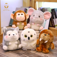 1PCS 18/25CM Cute Simulation Animal Plush Stuffed Toy Mini Soft High Quality Kids Toys Appease Doll Christmas Gifts