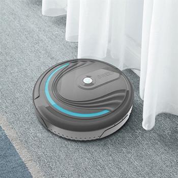 Smart Auto odkurzacz Robot do czyszczenia podłóg zabawka zamiatarka zamiatarka elektryczny akumulator Wet Dry Mop zamiatarka odkurzacz tanie i dobre opinie ISHOWTIENDA 10 sekund Pokrywa tkaniny typu Kosz z tworzywa sztucznego + plastikowe pedały Z 1 mophead 15 minut