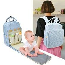 Mother backpack mummy maternity nappy bag large capacity travel