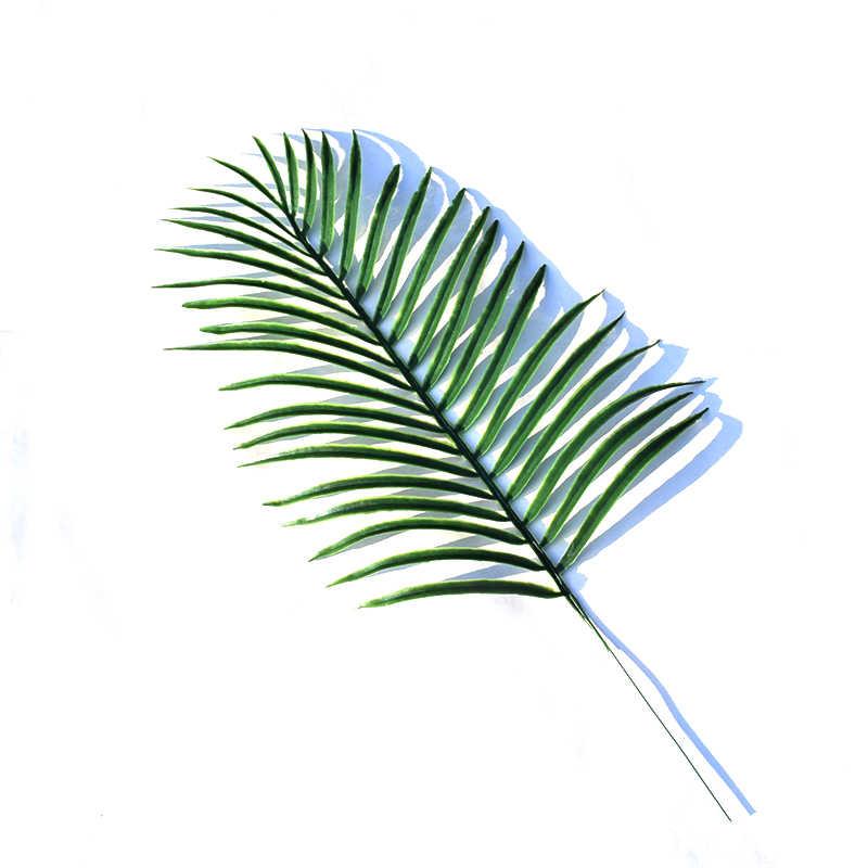 Kunstmatige Monstera Planten Plastic Tropische Palm Bladeren Huis Tuin Decoratie Accessoires Fotografie Decoratieve Bladeren