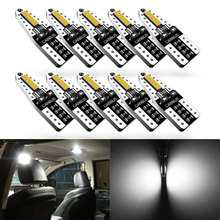 Katur 10x T10 Led W5W Canbus Error Free Bulb For VW T5 Passat B5 B6 B8 Golf 4 6 7 MK4 MK3 Jetta MK6 Scirocco Car Interior Light