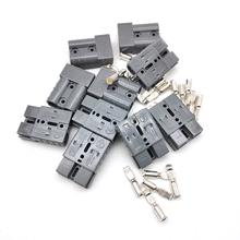 10 szt Zestaw łączników akumulatorowych 50A wtyczka 6AWG podłącz odłącz przyczepę wciągarki tanie tanio FY-UU CN (pochodzenie) connector set