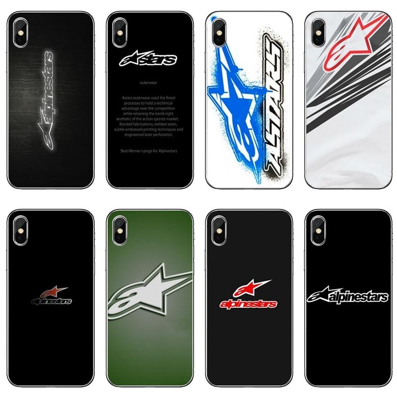 Phone Case For Sony Xperia Z5 C6 L2 XA1 XA2 XZ1 XZ2 Compact Premium LG G5 G6 G7 Q6 Q7 Q8 Q9 V30 V20 V10 Alpinestars Logo