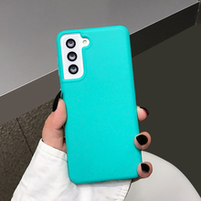 LOVECOM Candy Color Phone Case For Samsung A52 A72 A32 A31 A02S A12 S20 FE S21 S10 Plus Note 20 Ultra Soft Silicone Bumper Cover