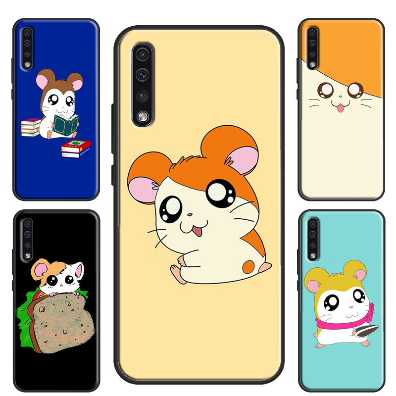 Cute <font><b>Funny</b></font> Hamster <font><b>Case</b></font> For <font><b>Samsung</b></font> Galaxy A71 A70 A51 A50 A40 A10 A30S A7 <font><b>Note</b></font> 10 S8 S9 S10 S20 Plus S10e image
