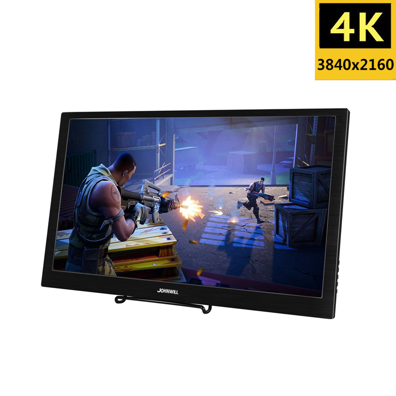 17.3 Inch 4K 3840x2160 IPS Type-C Portable Screen for Switch PS4 Pro Xbox 60Hz HDMI HDR Monitor for PC Laptop Gaming Monitor image