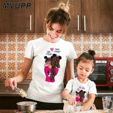 mama baby mouse cartoon family t shirt for mother daughter c