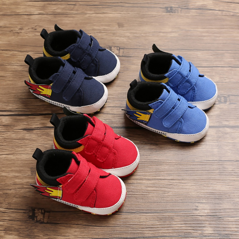 New Autumn Toddler Footwear Baby Infant Canvas Shoes Baby Girls/Boys Sport Shoe Anti Slip Soft Bottom Kids Sneakers First Walker