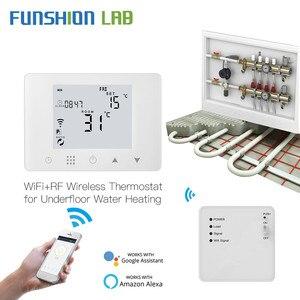 Image 1 - WiFi inteligentny termostat ścienny wody podłogowe temperatura podgrzewania kontroler współpracuje z Alexa Google domu
