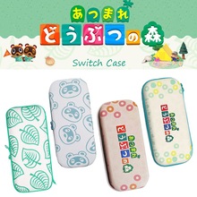 For Nintendo Switch Canvas Case Animal Crossing New Horizons Storage Bag Switch Lite Protection Cute Animal