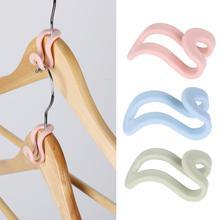 5/15Pcs Creative Mini Clothes Hanger Plastic Home Easy Hook Closet Organizer Storage Rack Holder Hook DIY Clothes Hanger
