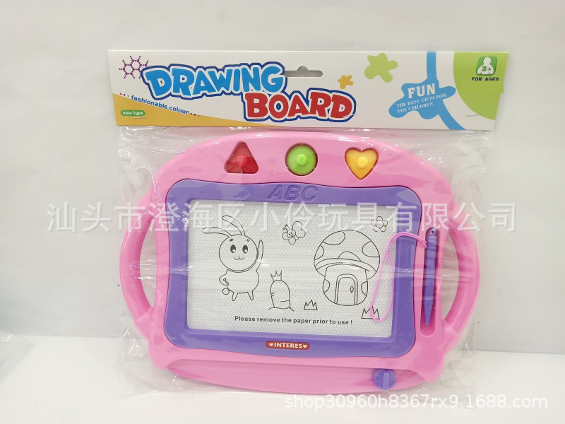 Children Color Magnetic Drawing Board Children'S Educational Teaching Aids Graffiti Sketchpad Magnetic Drawing Board Young STUDE