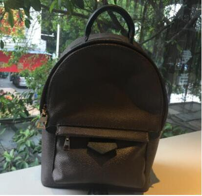 Hot Selling !!! 2019 Fashion Women <font><b>backpack</b></font> PLAN SPRINGS Bag High quality Real <font><b>leather</b></font> Speedy Bags Free shipping image
