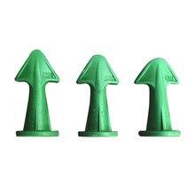 Caulk-Tool Gun-Accessories 3pcs 3-In-1 13r Green 10r