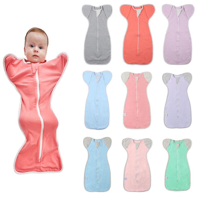 HereNice Can Reach Out New Born Baby Cocoon Pod Pebble Modeling Sleeping Bag Toddler Sleepsack Infant Kids Swaddle Sleep Sack