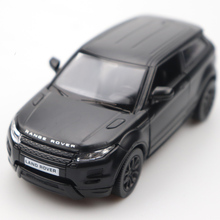 1:32 Diecast Car Doors-open Evoque Black High Simulation Alloy Model Pull Back Sound For Childrens Gifts