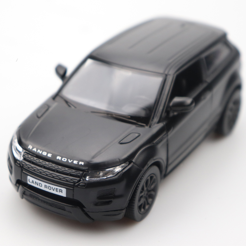 1:36 Diecast Car Doors-open Evoque Car Black High Simulation Alloy Diecast Car Model Pull Back For Children's Gifts