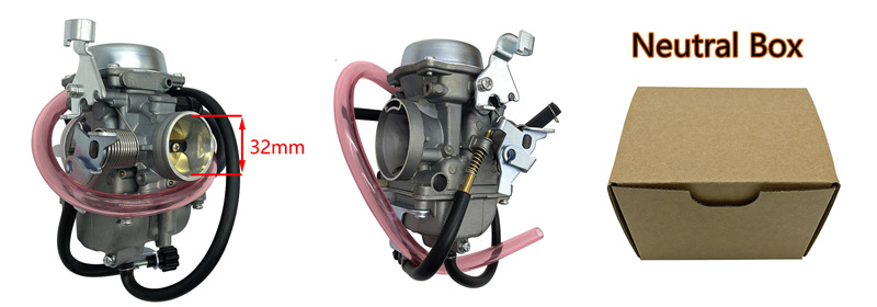 para kawasaki klf300 bayou all-terrain carburador do veículo klf 300 atv