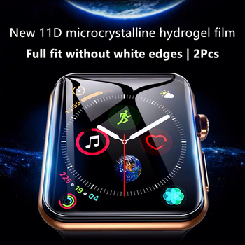 Screen Protector For Apple Watch Series 5 4 44mm 40mm Hydrogel Film For iWatch 1 2 3 Full Coverage Film 38mm 42mm Not Glass Film цена 2017