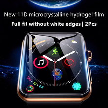 Screen Protector For Apple Watch Series 5 4 44mm 40mm Hydrogel Film For iWatch 1 2 3 Full Coverage Film 38mm 42mm Not Glass Film