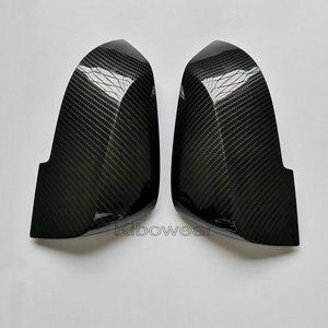 Image 2 - Kibowear สำหรับ BMW F30 F31 F20 F21 F22 F23 F32 (คาร์บอน) กระจกครอบคลุมหมวก F33 F34 X1 E84 ปีกด้านข้าง 1 2 3 4 เปลี่ยน 2014