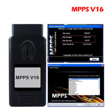 2019 A+++ Quality ECU Chip Tuning MPPS V16.1.02 for EDC15 EDC16 EDC17 Inkl CHECKSUM CAN Flasher Remapper