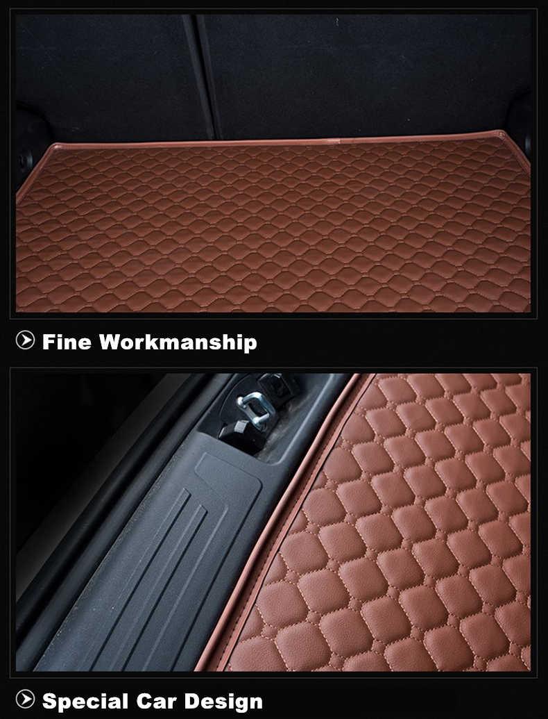 SJ Custom Waterdichte Kofferbak Mat AUTO Tail Boot Lade Liner Cargo Tapijt Pad Protector Fit Voor Subaru OUTBACK 2015 16 17 18 19