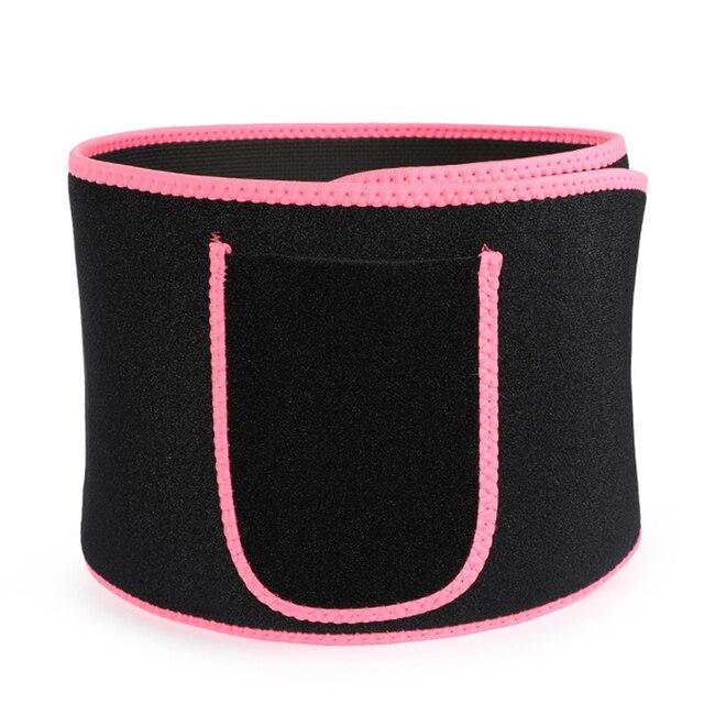 Multifunctional Slimming Stomach Adjustable Belly Neoprene Tummy Belt Weight Loss Waist Support Body Sweat Wrap Trimmer Elstiac 3