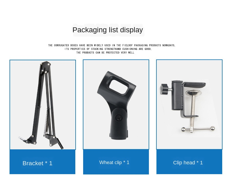 dedicado cross-border capacitor microfone suporte