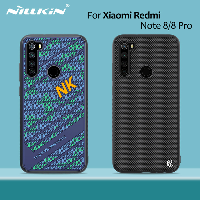 Funda NILLKIN Striker para Xiaomi Redmi Note 8 Pro, carcasa de silicona para PC, TPU, estilo deportivo, carcasa trasera, 6,3/6,53