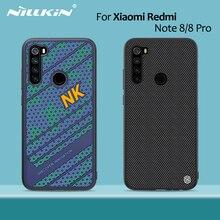 Voor Xiaomi Redmi Note 8 Pro Case Nillkin Striker Case Pc Tpu Siliconen Sport Stijl Back Cover Redmi Note 8 case Cover 6.3/6.53