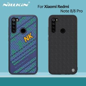 Image 1 - for Xiaomi Redmi Note 8 Pro case NILLKIN Striker Case PC TPU silicone sports style Back cover Redmi Note 8 case cover 6.3/6.53