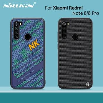 for Xiaomi Redmi Note 8 Pro case NILLKIN Striker Case PC TPU silicone sports style Back cover Redmi Note 8 case cover 6.3/6.53