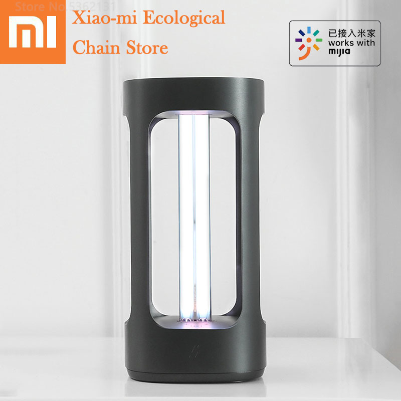 Xiaomi Ultraviolet Germicidal Light UVC Disinfection Sterilizer Light Smart Human Body Sensor Tube Mijia APP Control For Bedroom