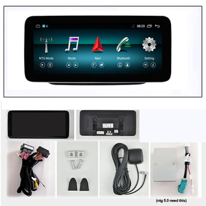 Image 5 - Android 10.0 System IPS Touch Screen Car Multimedia Player For Mercedes benz A CLA GLA W176 W117 X156 BT SWC WIFI 2+32G GPS Navi