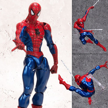 NEW 15cm Spider-Man Homecoming Spiderman Super hero Avengers Action figure toys doll Christmas gift no box B593 jhacg 18cm spiderman venom the villain action figure toys doll christmas gift no box