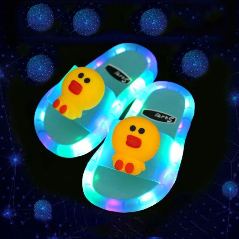 Kids' Rainbow Unicorn Slippers