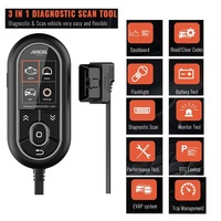 ANCEL BD310 3in1 Diagnostic OBD2 Scanner Code Reader Automotive Trip Computer Car Health Monitor&Real time Performance Monitor