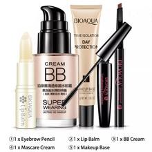Women Make Up Set Liquid BB Cream Foundation Primer Conceale