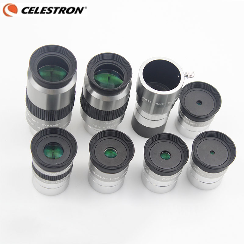 Celestron OMNI 4mm 6mm 9mm 12mm 15mm 32mm 40mm HD Eyepiece 2x Barlow Lens Fully Multi-Coated Metal Astronomy Telescope Monocular