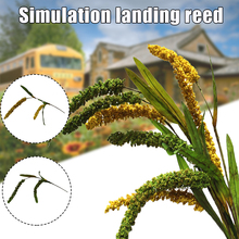 Bouquet for Home-Decoration MOWA889 3pcs Reed-Grass Craft Simulation-Dried Wedding-Flower