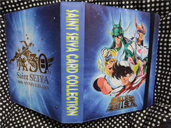 цена на Saint Seiya Card Book Solid Gold Soul Toys Hobbies Hobby Collectibles Game Collection Anime Cards Limit